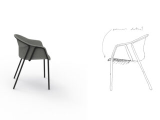 inBETWEEN – Individual and sustainable furniture made from organic sheet with reclaimed textiles